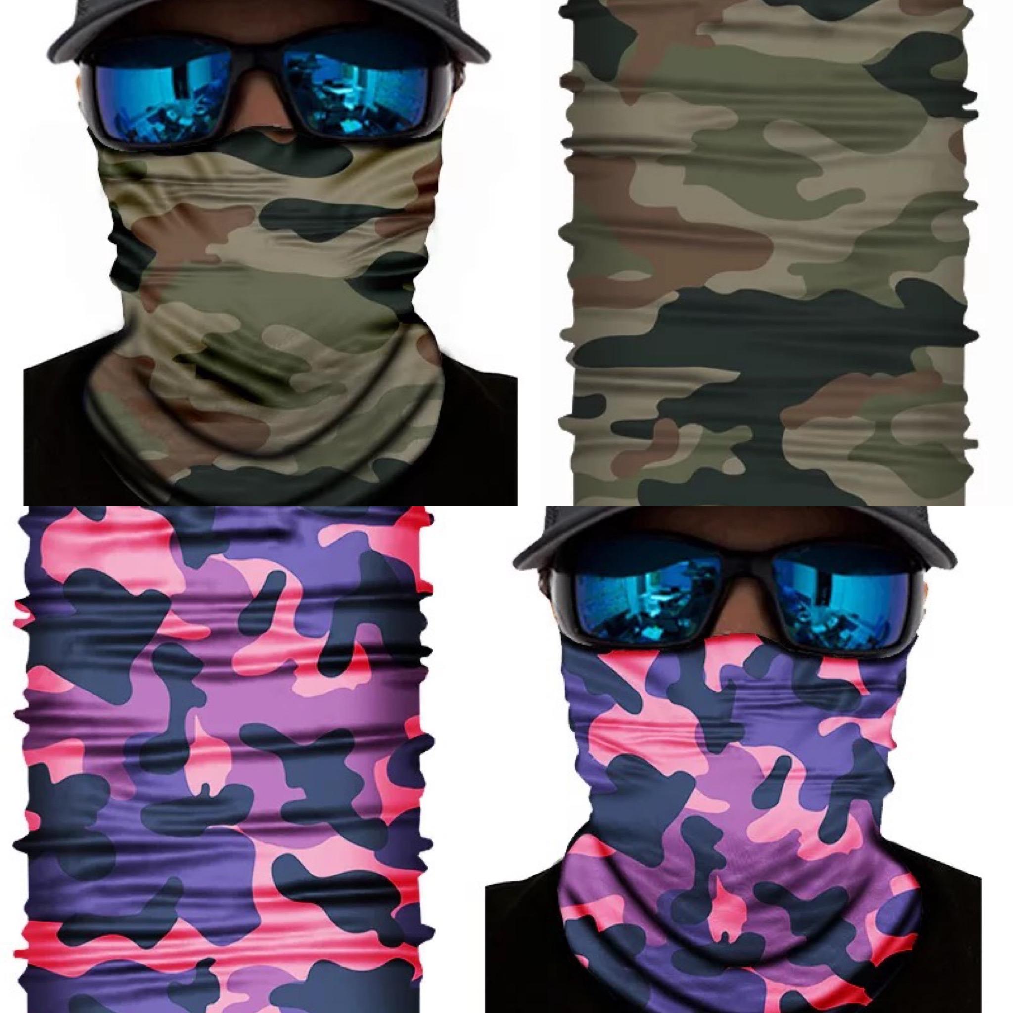 Camouflage bandana lasergamen